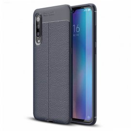 Funda Xiaomi MI 9 Tpu Cuero 3D Azul