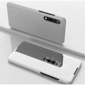 Funda Libro Smart Translucida Xiaomi MI 9 Gris