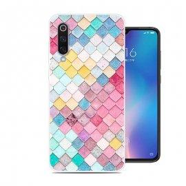 Funda Xiaomi MI 9 Gel Dibujo Acuarela