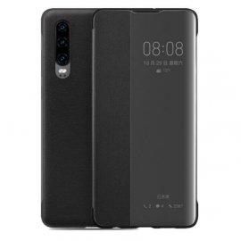 Funda Libro Smart View Huawei P30 Negra