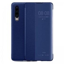 Funda Libro Smart View Huawei P30 Azul