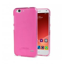 Funda Gel ZTE Blade S6 Flex Flexible y lavable Rosa