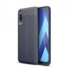 Funda Samsung Galaxy A50 Tpu Cuero 3D Azul
