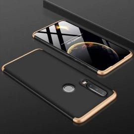 Funda 360 Huawei P30 Lite Dorada y Negra