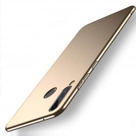 Funda Gel Huawei P30 Lite Flexible y lavable Mate Dorada