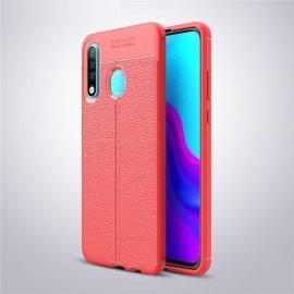 Funda Huawei P30 Lite Tpu Cuero 3D Roja