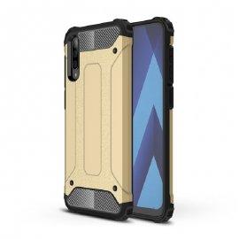 Funda Samsung Galaxy A50 Shock Resistente Dorada