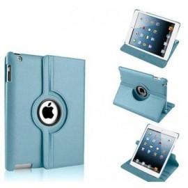 Funda Cuero Ipad Pro 12.9 Giratoria Azul
