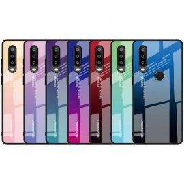 Funda Huawei P30 Lite Tpu Trasera Cristal