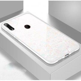 Funda Huawei P30 Lite Tpu Blanca Trasera Cristal