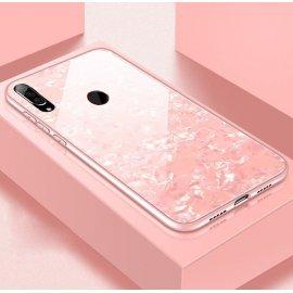 Funda Huawei P30 Lite Tpu Rosa Trasera Cristal