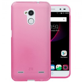 Funda Gel ZTE Blade V7 Flexible y lavable Rosa
