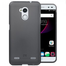 Funda Gel ZTE Blade V7 Flexible y lavable Negra