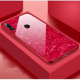 Funda Huawei P30 Lite Tpu Roja Trasera Cristal