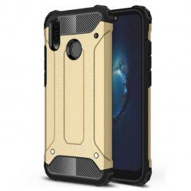 Funda Huawei P30 Lite Shock Resistante Dorada.