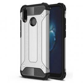 Funda Huawei P30 Lite Shock Resistante Plata.