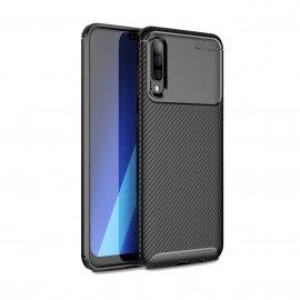 Funda Samsung Galaxy A50 Tpu Carbonix 3D Negra