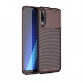 Funda Samsung Galaxy A50 Tpu Carbonix 3D Marron