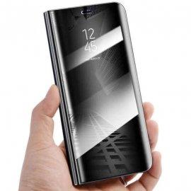 Funda Libro Smart Translucida Huawei P30 Lite Negra