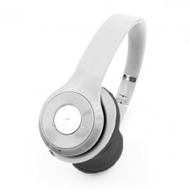 Auriculares Bluetooth Gris Plateado MTel