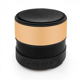 Altavoz Bluetooth Granada con Radio FM Plus Dorado
