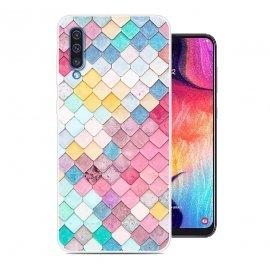 Funda Samsung Galaxy A50 Gel Dibujo Acuarela