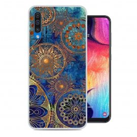 Funda Samsung Galaxy A50 Gel Dibujo Mandala
