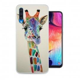 Funda Samsung Galaxy A50 Gel Dibujo Jirafa