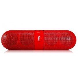 Altavoz Bluetooth Estereo Rojo DD FM