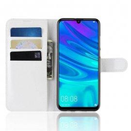 Funda Libro Huawei P30 Lite Soporte Blanca