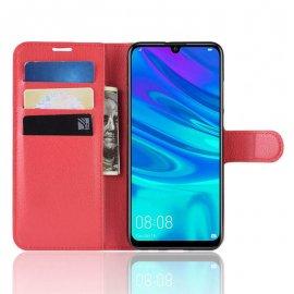 Funda Libro Huawei P30 Lite Soporte Roja
