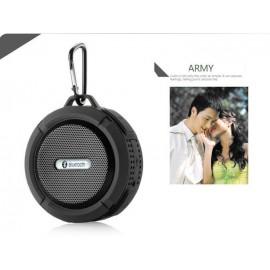 Altavoz Bluetooth Waterproof Negro C6