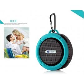 Altavoz Bluetooth Waterproof Azul C6
