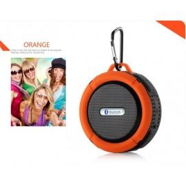 Altavoz Bluetooth Waterproof Naranja C6