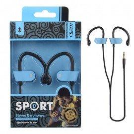 Auriculares Deporte ES201 Azul Premium