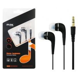 Auriculares MTK Negro in ear