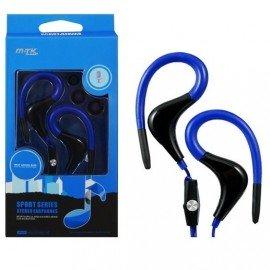 Auriculares Deporte MTK Azul con Micro