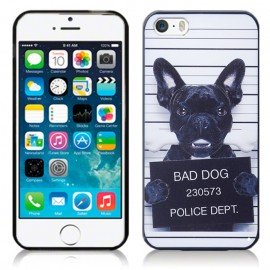 0f71f442e Funda Iphone 6 Plus Gel 3D Bad Dog Semi Rigida Alta Calidad