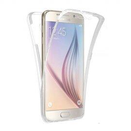 Funda Galaxy S6 Edge Doble Cara Full Transparente