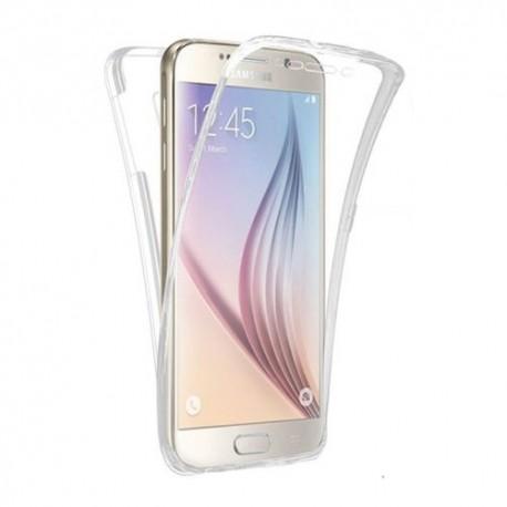 Funda Galaxy S7 Doble Cara Full Transparente