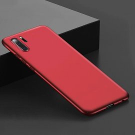 Funda Gel Huawei P30 Pro Flexible y lavable Mate Roja