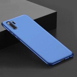 Funda Gel Huawei P30 Pro Flexible y lavable Mate Azul