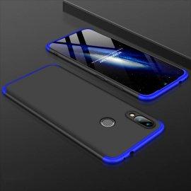 Funda 360 Xiaomi Redmi 7 Negra y Azul