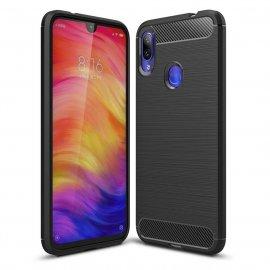 Funda Xiaomi Redmi 7 Tpu Carbono 3D Negra