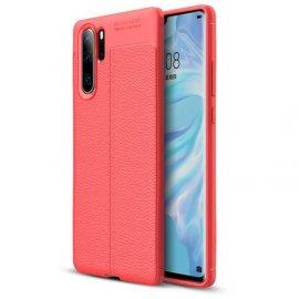 Funda Huawei P30 Pro Tpu Cuero 3D Roja