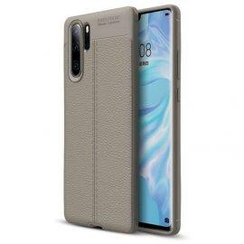 Funda Huawei P30 Pro Tpu Cuero 3D Gris
