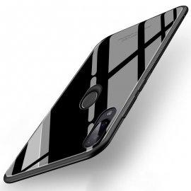Funda Xiaomi Redmi 7 Tpu Trasera Cristal Negra