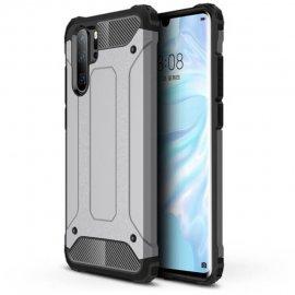Funda Huawei P30 Pro Shock Resistante Plata.