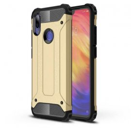 Funda Xiaomi Redmi 7 Shock Resistante Dorada