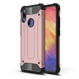 Funda Xiaomi Redmi 7 Shock Resistante Oro Rosa